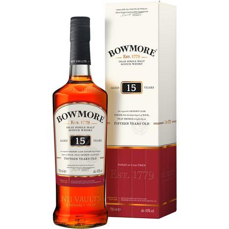 BOWMORE Scotch whisky ecossais Darkest 43%  15 ans