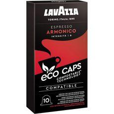 LAVAZZA Café armonico en capsule compatible Nespresso 10 capsules 53g