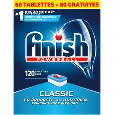 Finish Powerball tablettes lave-vaisselle classic x120