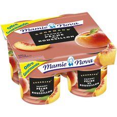 MAMIE NOVA Mamie Nova Gourmand yaourt à la pêche 4x150g 4x150g