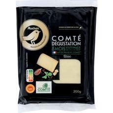 Gourmet AUCHAN GOURMET Comté en bloc AOP 8 mois