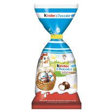 KINDER Mini eggs petits œufs de chocolat au lait 182g