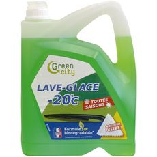 Durand production Lave glace biodégradable + grattoir -20° 5l