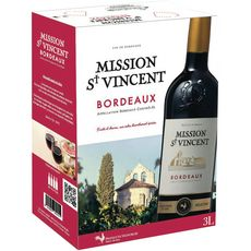 AOP Bordeaux Mission Saint Vincent rouge 3L