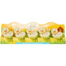 LINDT Mini poussin en chocolat au lait 5 pièces  5x10g