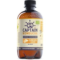 Captain Kombucha ginger citron bio 400ml