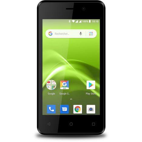 SELECLINE Smartphone 149929 8 Go 4 pouces Noir/Blanc 3G Double SIM