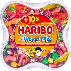 Haribo world mix 900g +10% offert