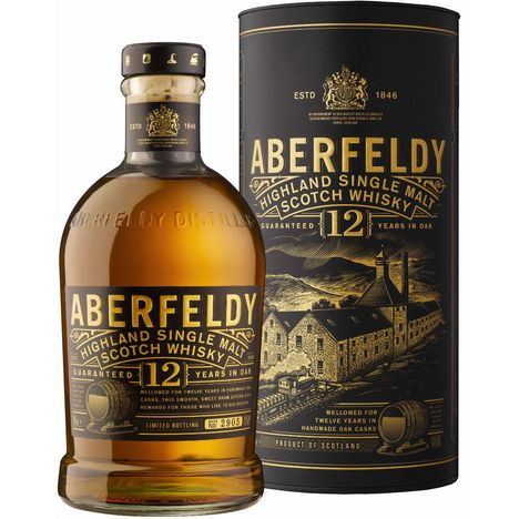 ABERFELDY Scotch whisky single malt 12 ans 40%