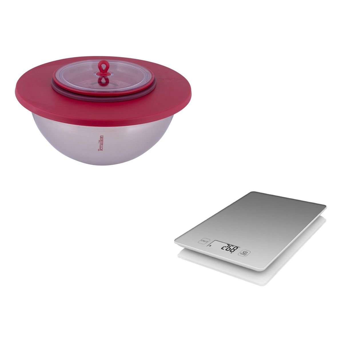 Kit bol + balance de cuisine - MICHALAK + FIRST