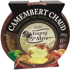 ISIGNY Isigny camembert chaud 250g