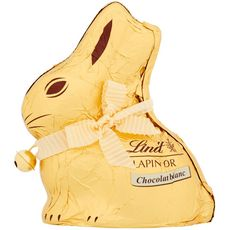 LINDT Lindt lapin or chocolat blanc 100g