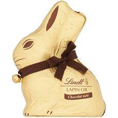 LINDT Lapin Or au chocolat noir 200g