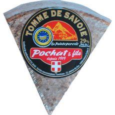 FROMAGE A LA COUPE POCHAT & FILS Tomme de Savoie pâte percée AOP 250g
