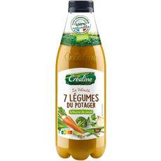 Créaline CREALINE Créaline Velouté de 7 légumes du potager 3 à 4 portions 95cl