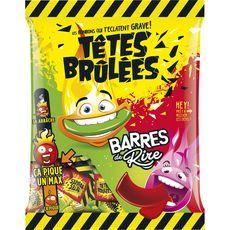 TETE BRULEES Têtes Brûlées Bonbons barrés piquants 200g 200g