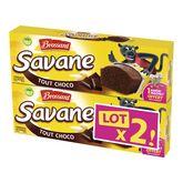 Brossard Brossard savane pocket tout chocolat 2x189g