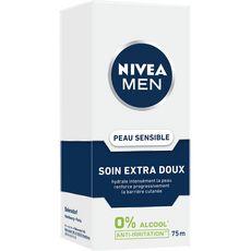 Nivea Men Soin extra doux anti-irritation peaux sensibles 75ml