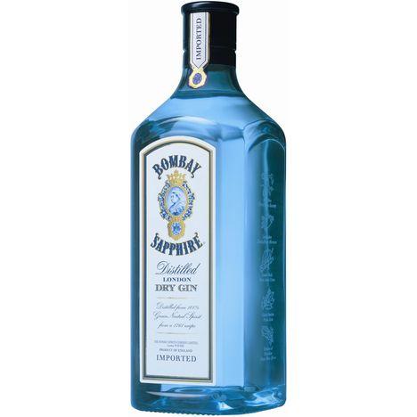 BOMBAY SAPPHIRE Dry gin 40%
