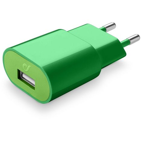 CELLULARLINE Prise Secteur/USB Vert