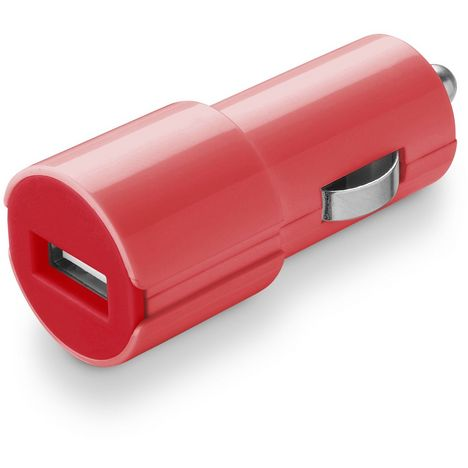 CELLULARLINE Chargeur allume-cigare/USB Rouge