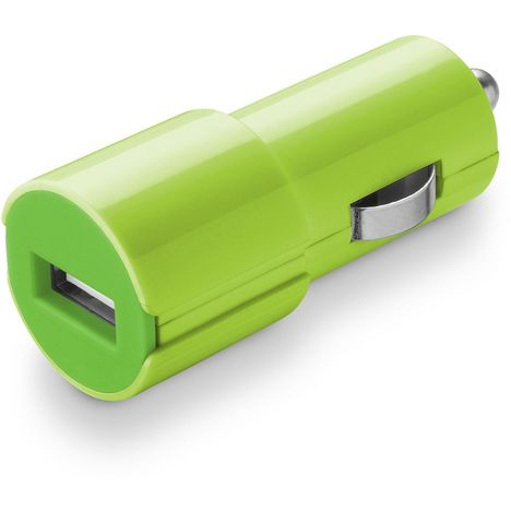 CELLULARLINE Chargeur Allume-cigare/USB Vert