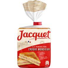 Jacquet grande tranche croque sans sucre 520g