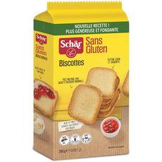 SCHAR Biscottes sans gluten 260g