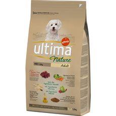 ULTIMA Nature mini croquettes à l'agneau légumes riz pour chien 1,25kg