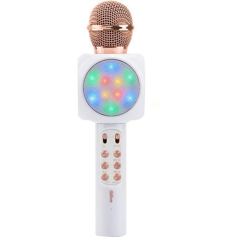 QILIVE Micro karaoké - Blanc - Q1194
