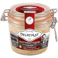Delpeyrat Foie gras de canard entier authentique du Sud-Ouest 360g