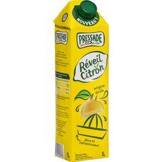 PRESSADE Jus réveil au citron de Sicile brique 1l