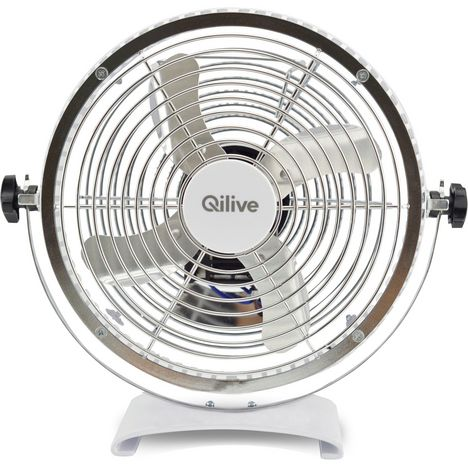 QILIVE Ventilateur de table Q.5518 888296 Blanc