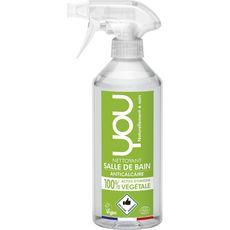YOU Nettoyant anti-calcaire salle de bain écologique & vegan 500ml