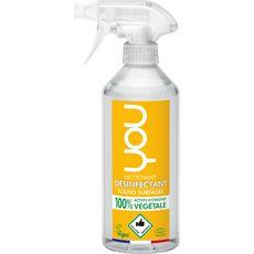 YOU Spray nettoyant désinfectant multi-surfaces écologique & vegan 500ml
