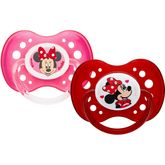 Walt Disney Dodie sucette anatomique duo  Minnie A66 +18m