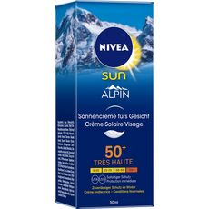 Nivea Sun Crème solaire visage protection haute FPS50+ 50ml