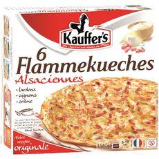 KAUFFER'S Flammekueche 6 pièces 1,56kg