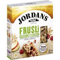 Jordans frusli pommes cranberries 180g 180g