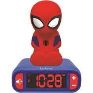 LEXIBOOK Réveil veilleuse Spider-Man - Rouge/bleu - TRL800SP