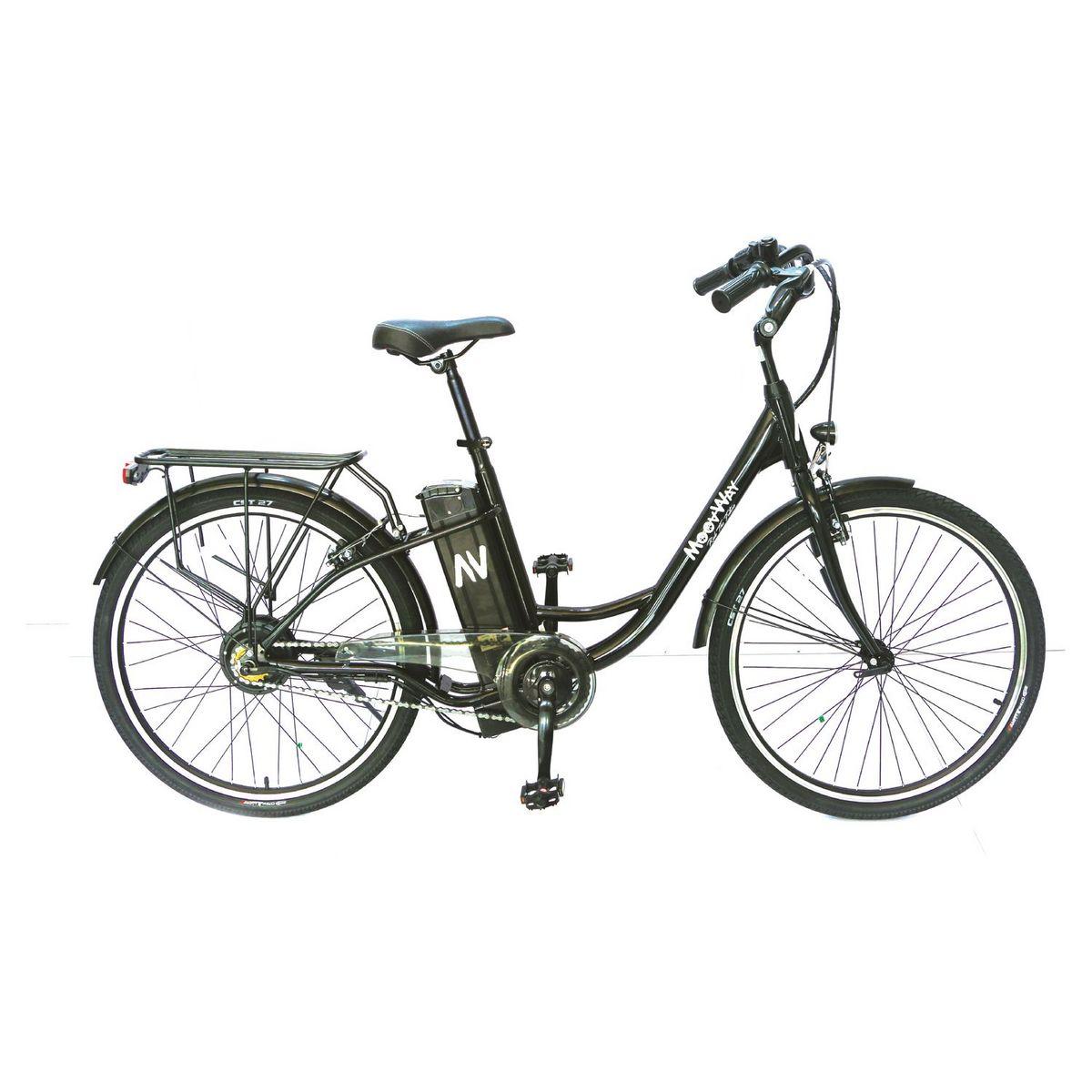 Vélo à assistance électrique - Noir - Solar
