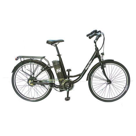 MOOVWAY Vélo à assistance électrique - Noir - Solar