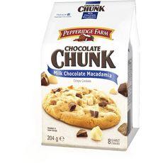 Pepperidge Farm cookies milk chocolate macadamia 204g
