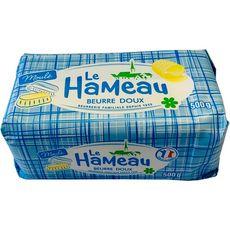 AUCHAN ESSENTIEL Beurre doux tartinable, moulé 82% mat.gr 500g