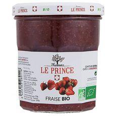 THOMAS LE PRINCE Confiture extra de fraises bio 340g