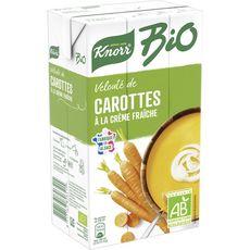 Knorr soupe carottes bio brique 1l
