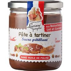 LUCIEN GEORGELIN Lucien Georgelin pâte à tartiner cacao et sucre 400g 400g