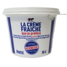 VERNEUIL Crème fraîche épaisse 30%MG 50cl