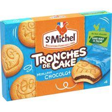 St Michel tronches de cake chocolat 175g
