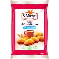 ST MICHEL Petites madeleines sans huile de palme 500g